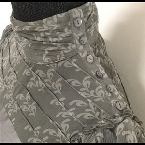Designer dress - Cynthia Cynthia Steffe -grey
